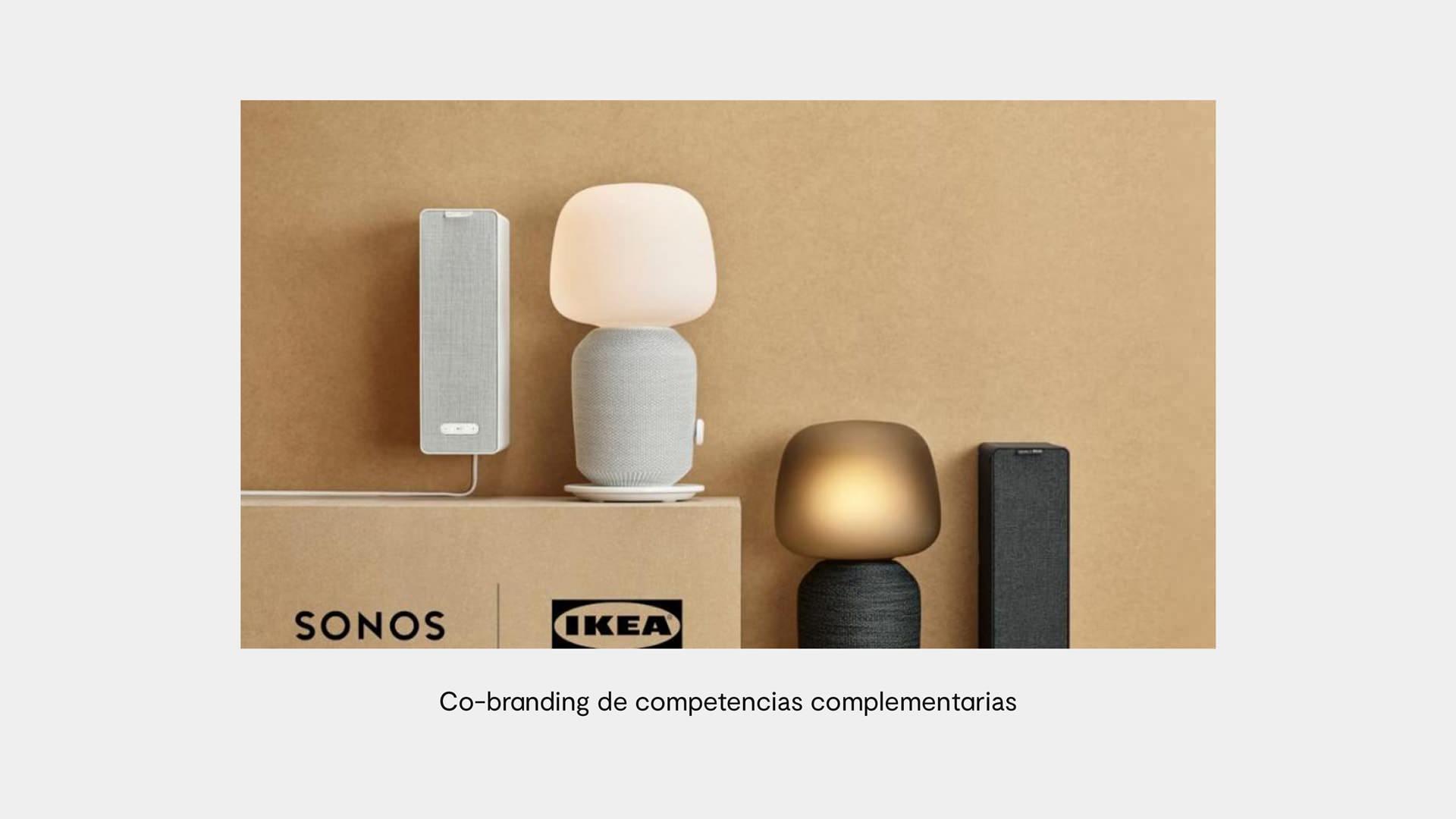 ejemplo cobranding entre Sonos e Ikea