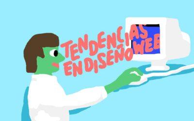 Tendencias de diseño web, no dejes que tu web se quede obsoleta