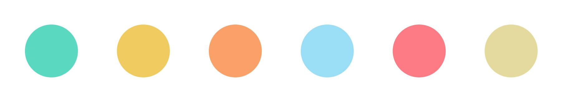 Color palette for Kiwoko