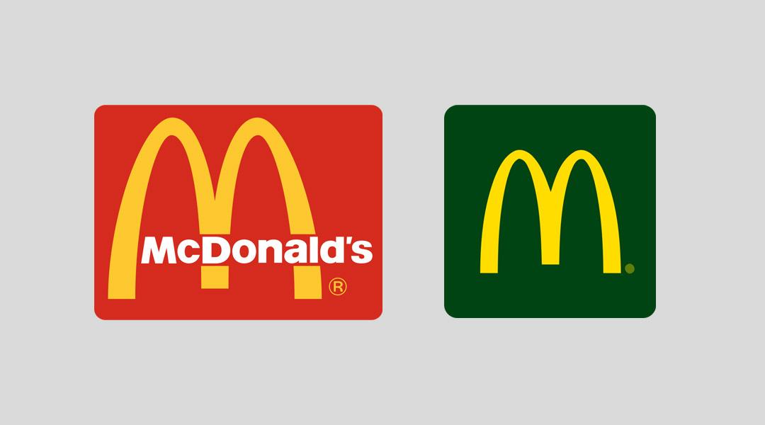 cambio identidad de marca McDonalds