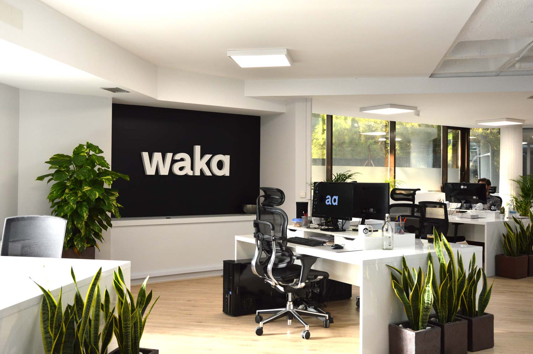 Waka office in Madrid