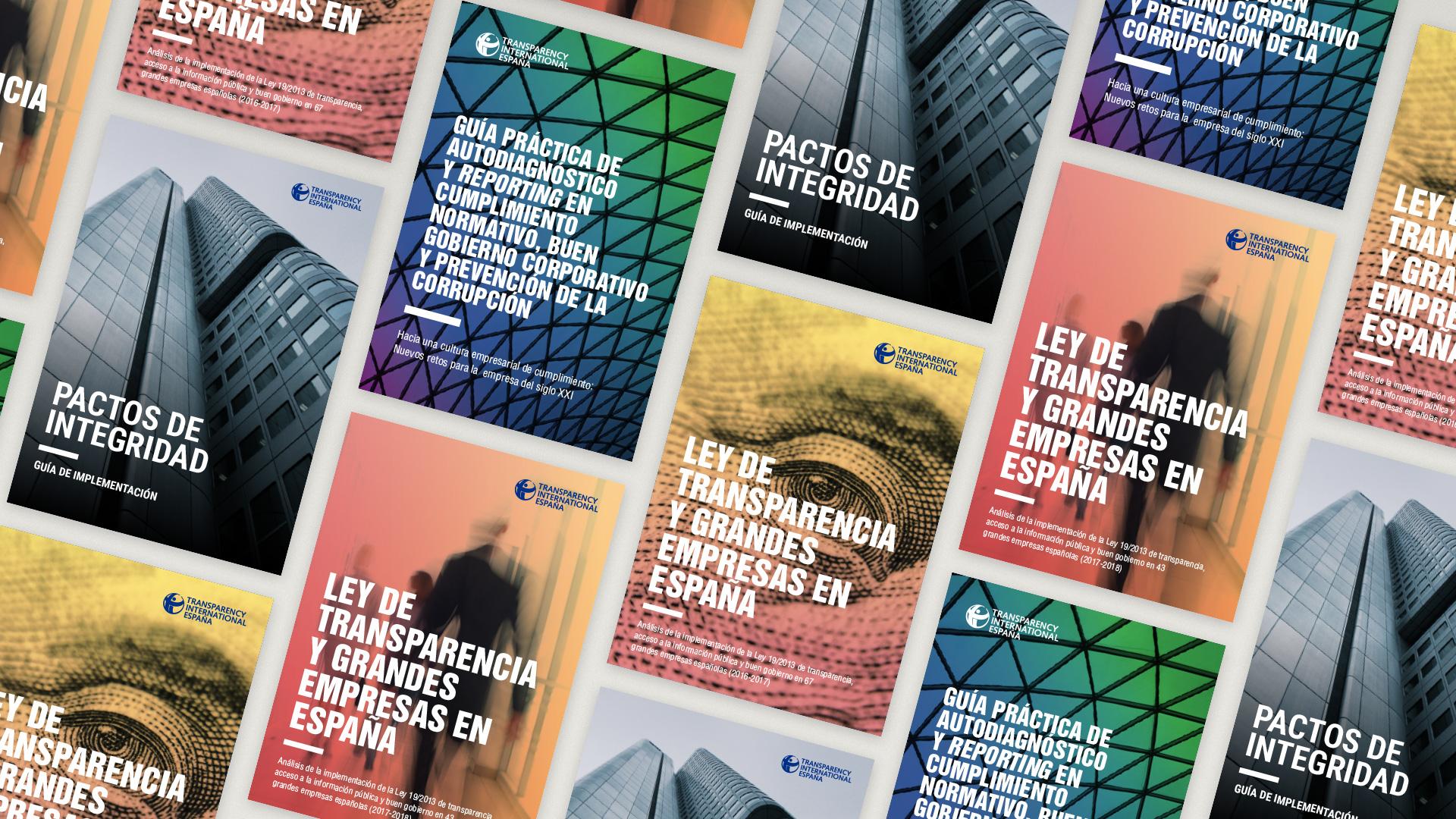 Diseño editorial para Transparencia Internacional