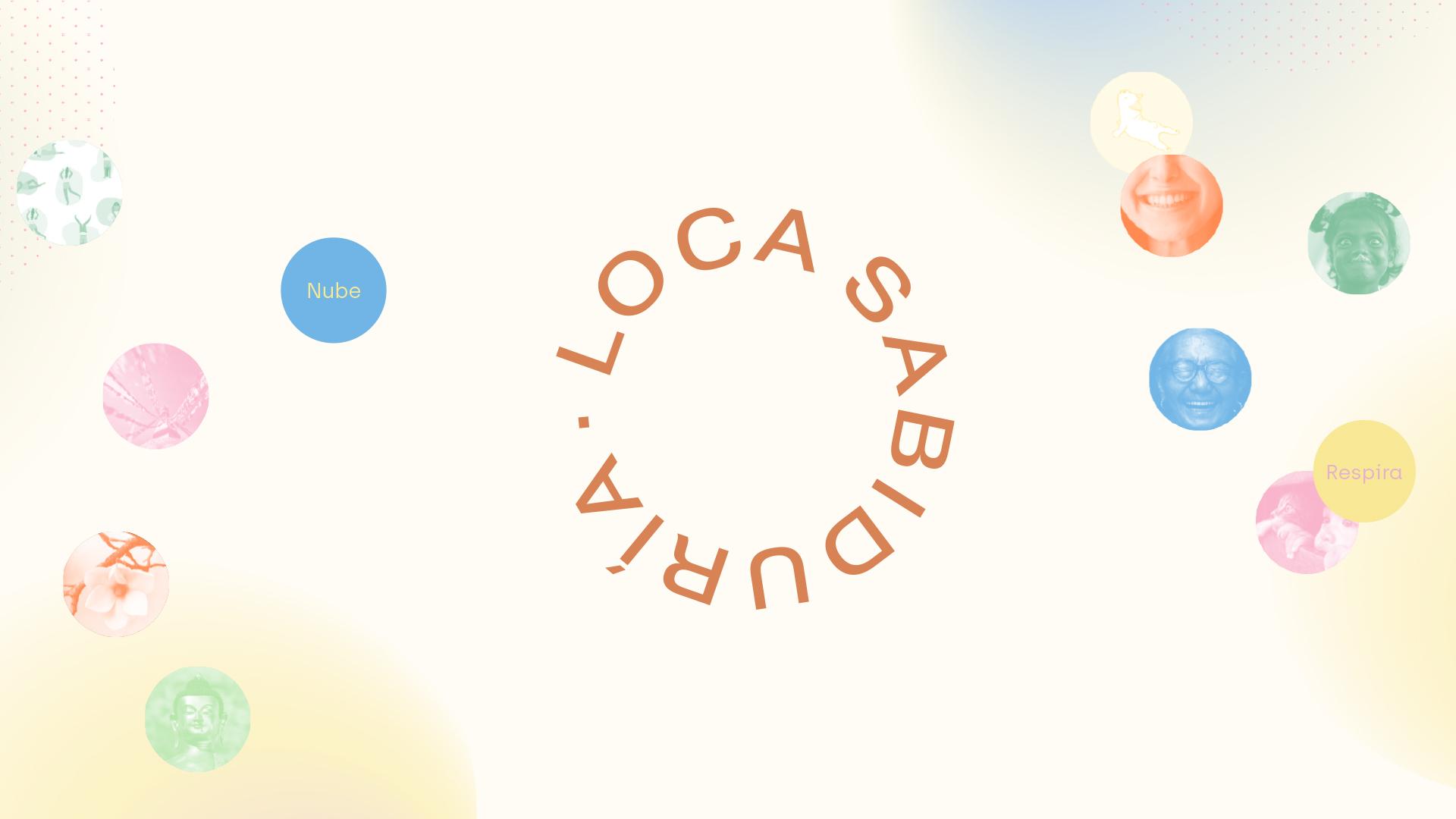 Logotipo Loca Sabiduría